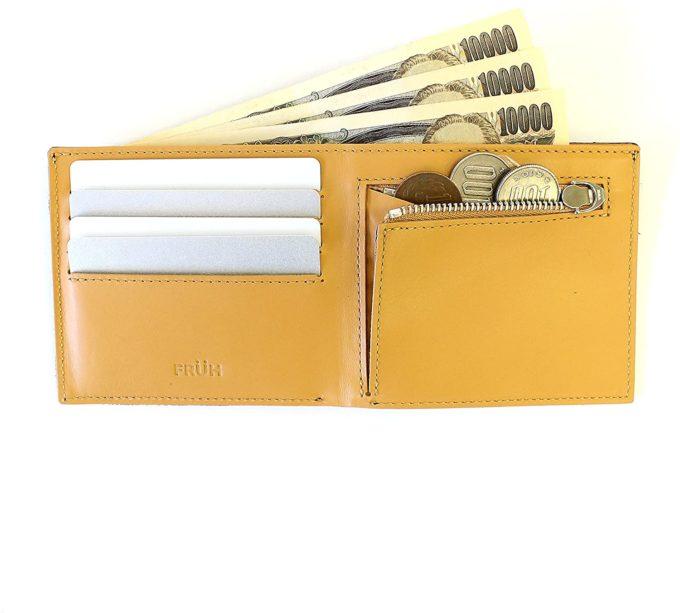 FRUE財布内側