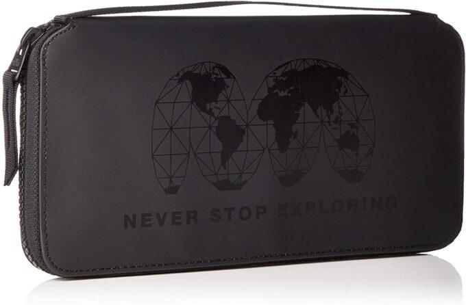 ノースフェイスのパスポートケースはとても丈夫です