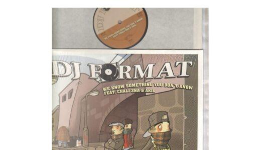 天才肌のMVは必見|DJ FORMAT We know something you don't know